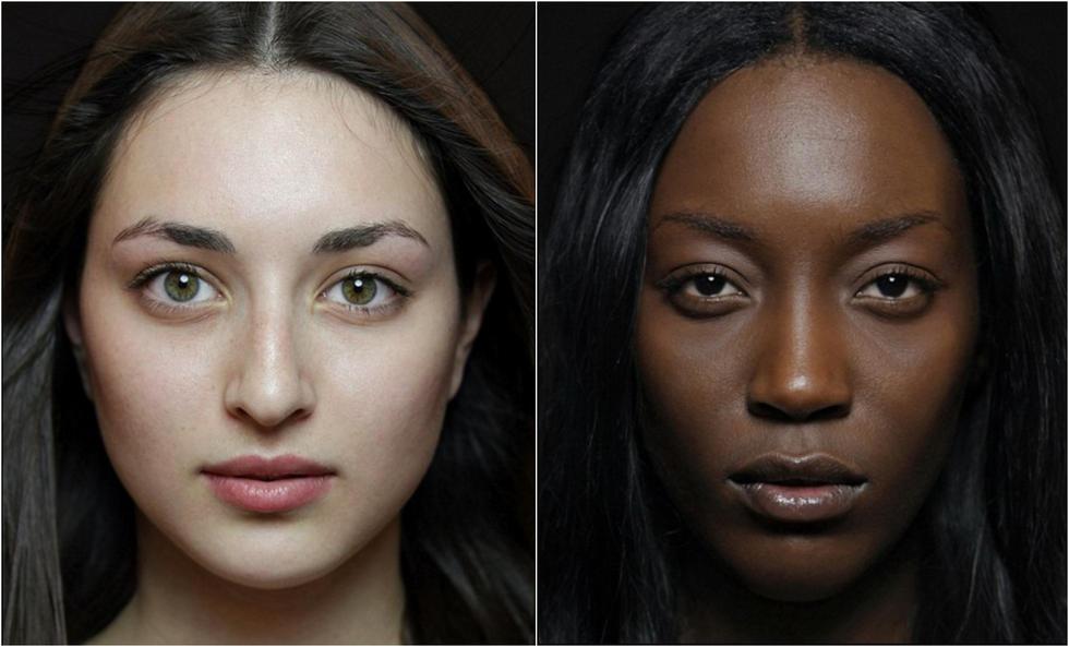 世界50个民族的素颜美女代表都长啥样