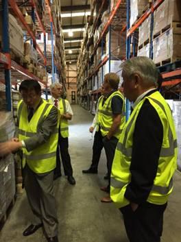 探访悦信英国IPSWICH管理中心,智慧物流为生产保驾护航