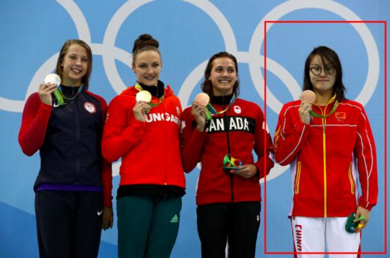 外媒关注洪荒少女 她是本届奥运最可爱选手